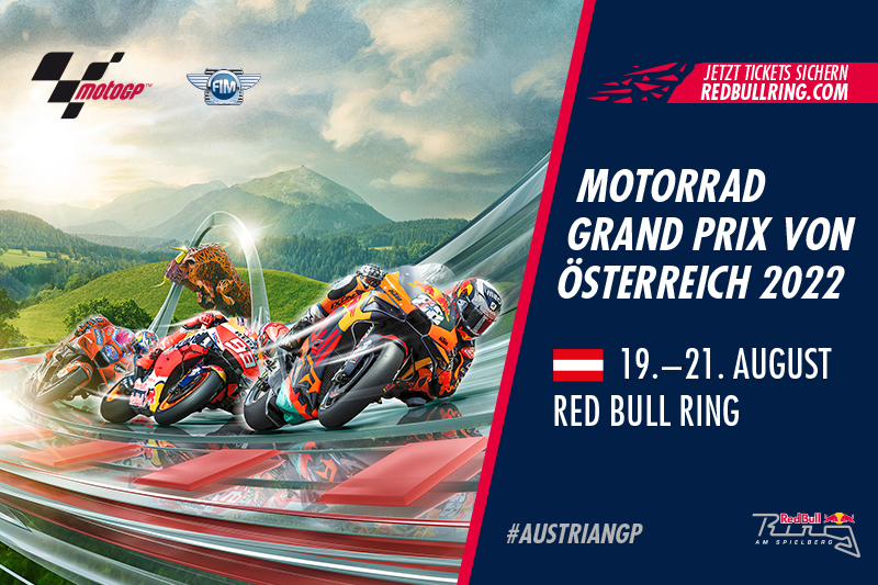 Motorrad Grand Prix von Österreich 2022